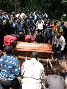 Obsèques de l'Evangeliste Atangana Raphael