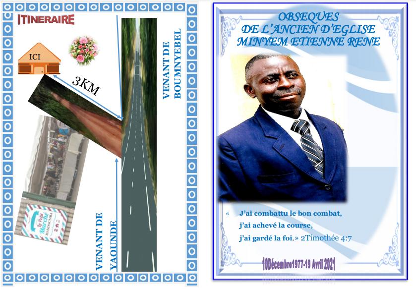 Obsèques de l'ancien Minyem Étienne