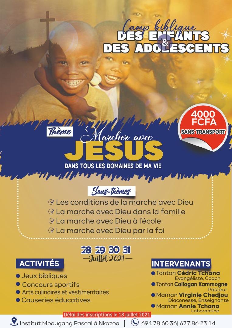 Camp d enfants et d adolescents 2021 a nkozoua*